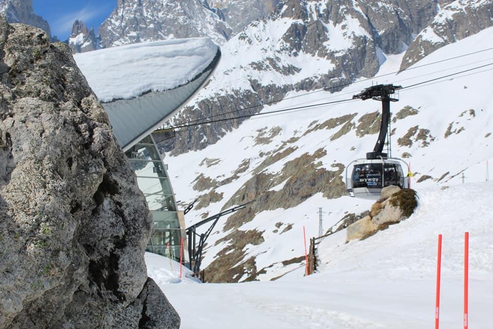 Skyway Monte Bianco Il Punto Più Basso Del Cielo